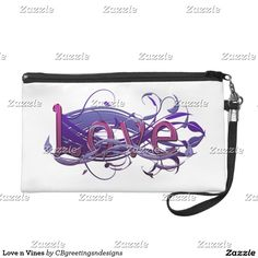 Love n Vines Wristlet Purse