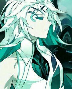 Blue Hair Anime Boy, Anime Art Girl, Manga Art, Ain Elsword, Elsword Anime, I Love Anime, Anime Guys, Boy With White Hair, Character Art