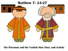 Games and other activities for Family Night: Wise man Built...