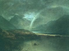 Buttermere Lake, a Shower - William Turner Completion Date: Style: Romanticism Genre: landscape Technique: oil Material: canvas Gallery: Tate Gallery, London, UK Tags: rain-and-fog, cliffs-and-rocks Joseph Mallord William Turner, Turner Painting, Painting & Drawing, Covent Garden, Flint Castle, Art Romantique, Turner Watercolors, English Romantic, Joseph Williams