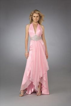 beautiful pink gown, you and I will meet one day.