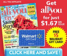 All You Subscription – Great Deal!  See more at ourfrugalfamily.net