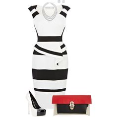 """""""Power Dress Professional Outfit"""" by rleveryday on Polyvore"""