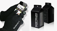 Arriva il freddo? Grazie ai guanti #touch by @Sostanza SRL potete usare comunque il vostro #smartphone! solo per i clienti più #geek...