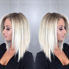 Women's Fashion Bob Hair Ombre Blonde Straighr Wigs for White Women Full Wig Cosplay Party Wig Cplor:(one Color) Short Hair Blond, Blonde Ombre Hair, Ombre Hair Color, Hair Color Balayage, Haircolor, Hair Color And Cut, Blonde Balayage, Bob Hairstyles For Fine Hair, Frontal Hairstyles