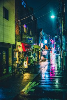 ourbedtimedreams: Rainy Streets by Sandro Bisaro on Flickr.