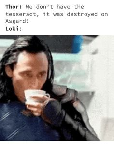 Loki just can't help himself can he