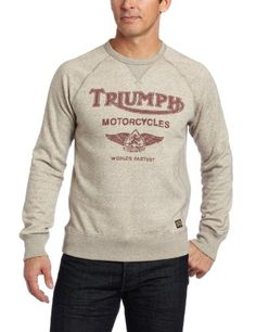 Lucky Brand Mens Men's Crew Neck Sweatshirt $51.99   Want that!