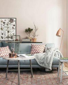 26 meilleures images du tableau SALON VERT ROSE GRIS   Green lounge ...