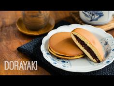 Dorayaki (Japanese Red Bean Pancake) with Nutella どら焼き レシピ - OCHIKERON - CREATE EAT HAPPY - YouTube