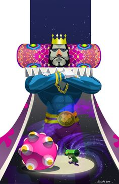 Fanart - Katamari Damacy by ~Crumbelievable on deviantART