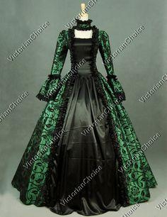 Victorian Wedding Party Georgian Period Dress Ball Gown Reenactment