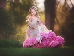 "Take a look at Love Baby J's beautiful couture flower girl dress called ""Dusty Romance. Cute Flower Girl Dresses, Flower Girls, Little Girl Tutu, Girls Pageant Dresses, Feather Dress, Tutus For Girls, Dusty Rose, Special Occasion Dresses, Dress Making"