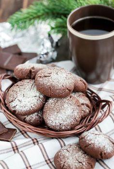 Čokoládové sušienky s kokosom Bread, Food, Basket, Brot, Essen, Baking, Meals, Breads, Buns