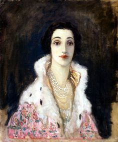 Portrait of Sybil Sassoon (1894-1989) who became the Countess of Rocksavage upon her marriage in 1913 to George, Earl of Rocksavage (1883-1968)