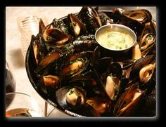 Garlic Mussels at The Stinking Rose - Beverly Hills,CA