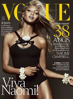 Naomi Campbell for Vogue Brazil May 2013