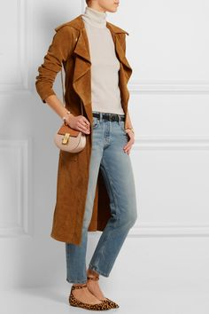 Outfit w/ The Row(light-blue ashland cropped mid-rise straight-leg jeans)