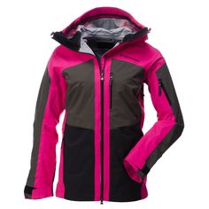 This three-layer shell Gravity jacket is a functional jacket with a sporty look. It is waterproof, windproof and is made from breathable Gore-Tex®. Due to the water column 28.000mm and the breathability of 13 RET, this jacket is perfect for extreme conditions.