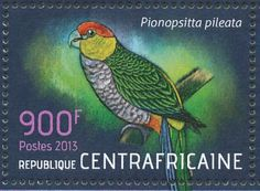 Red-capped Parrot stamps - mainly images - gallery format