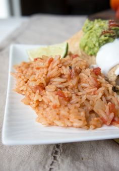 Easy Mexican Rice - Really Easy!