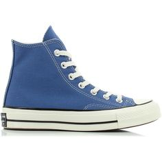 Converse Chuck Taylor All Star 70 Sneakers (230 PEN) ❤ liked on Polyvore featuring shoes, sneakers, converse, converse shoes, long shoes, star shoes, converse sneakers and navy blue shoes