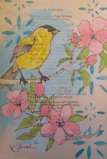 altered journal page