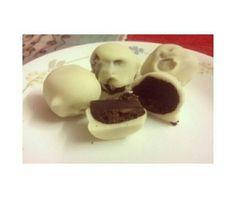 Oreo white chocolate truffles.