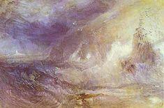 'Langschiff Leuchtturm, Lands End', wasserfarbe von William Turner (1789-1862, United Kingdom)