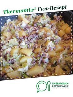 Spitzkohl-Hackfleisch-Kartoffel-Schmaus mit saurer Sahne von Mixitrixi. Ein Thermomix ® Rezept aus der Kategorie Hauptgerichte mit Fleisch auf www.rezeptwelt.de, der Thermomix ® Community.