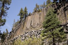 California -- Madera County -- Devils Postpile National Monument