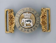 British  88th (Connaught Rangers) Regiment, Lieutenant-colonel Edmund  Richard Jeffreys  1855 pattern Waistbelt clasp. e2105014741