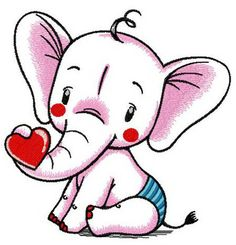Baby elephant machine embroidery design from African machine embroidery collection feel free to decorate baby bibs with this design. Baby Elephant Drawing, Little Elephant, Border Embroidery, Free Machine Embroidery Designs, Cute Drawings, Quilting Designs, Coloring Books, Hello Kitty, Anime