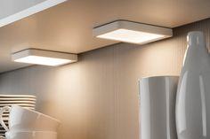 Paulmann Vane LED szekrény világítás. #paulmannlighting #paulmann #modernkitchenideas #modernkitchen #kitchen #kitchenlighting #lighting #lamp #kitchendesign #moderndesign #modernstyle #interiordesign #interiores #konyha #modernkonyha #modernkonyhaötletek #belsőépítészet #lakberendezés #lakásfelújítás #világítás #lámpa #led Wall Lights, Ceiling Lights, Led Lampe, Lighting, Modern, Home Decor, Products, Interior Lighting, Ceiling Lamps