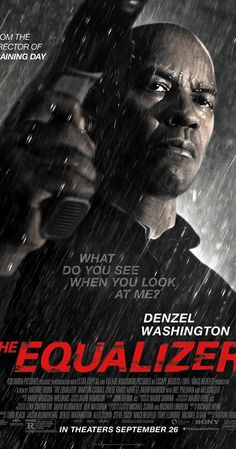 Directed by Antoine Fuqua.  With Denzel Washington, Marton Csokas, Chloë Grace Moretz, David Harbour.