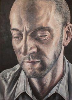 """<span class=""""artist""""><strong>Derren Brown</strong></span>, <span class=""""title""""><em>Self Portrait</em>, 2014</span>"""