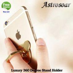 ASTROSOAR Luxury 360 Degree Stand Holder Smartphone Mobile Phone