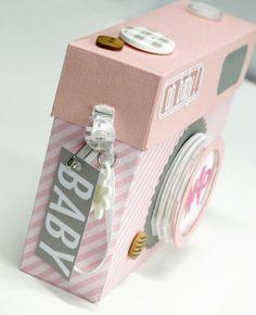 kim watson ★ Camera shaped mini book
