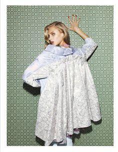 Photo Anna Selezneva by Nagi Sakai for Vogue Mexico February 2014
