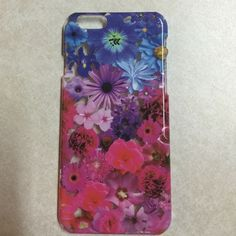 Colorful flowers iPhone 6/6s case Plastic colorful IPhone 6/6s case Claire's Accessories Phone Cases