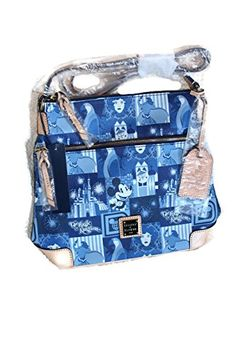 Magic Kingdom 45th Anniversary Leather Letter Carrier by Dooney & Bourke