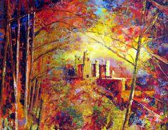 Image detail for -Cezanne Autumn 2010 (47x37cm) Acrylic & Pastel £255 #