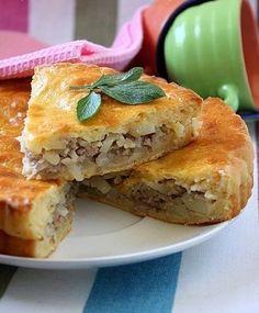 Пирог с мясом и картофелем | Кулинарные Рецепты