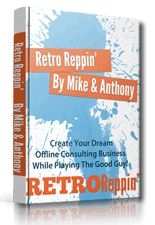 Retro Reppin - Offline Reputation Management System. Comes with Master Resale Rights. This Course Is About Building A Complete Reputation Management Business! Build A Successful Business By Simply Helping Clients And Playing The Good Guy.