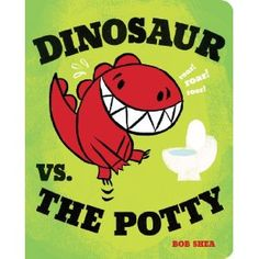the Potty (Board Book) - Bob Shea Dinosaur vs. the Potty (Board Book) - Bob SheaDinosaur vs. the Potty (Board Book) - Bob Shea Dinosaur Books For Kids, Funny Books For Kids, Dinosaur Crafts, Toddler Books, Childrens Books, Toddler Storytime, Funny Kids, Potty Training Books, Toilet Training