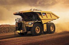 2014 Caterpillar A-C quarry dump dumptruck semi tractor construction wallpaper Mining Equipment, Heavy Equipment, Dump Trucks, Big Trucks, Caterpillar Equipment, Cat Machines, Engin, Heavy Machinery, Truck Design