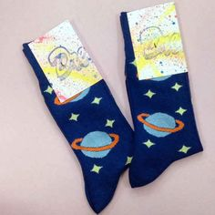 Put planets on your feet.