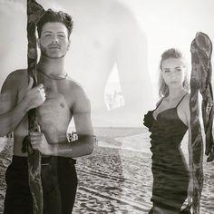 Doppia esposizione in bianco e nero con Francesca Ruggiero e Antonio Careri ..................... #portrait #ritratto #biancoenero #blackandwhite #doubleexposure #boy #girl #fashion #shooting #couple #love #nikon #nikonportrait