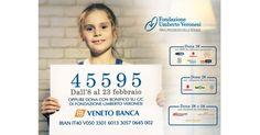 @VENETOBANCA e @Fondaz_Veronesi nella lotta ai tumori tra i bambini, doniamo! #GoldforKids #FondazioneVeronesi #ad