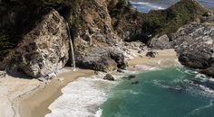 McWay Waterfall Trail - Big Sur